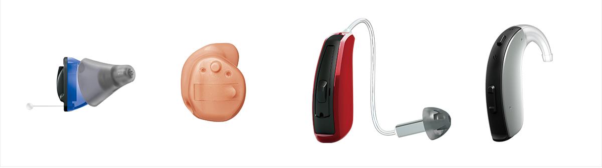 補聴器の種類